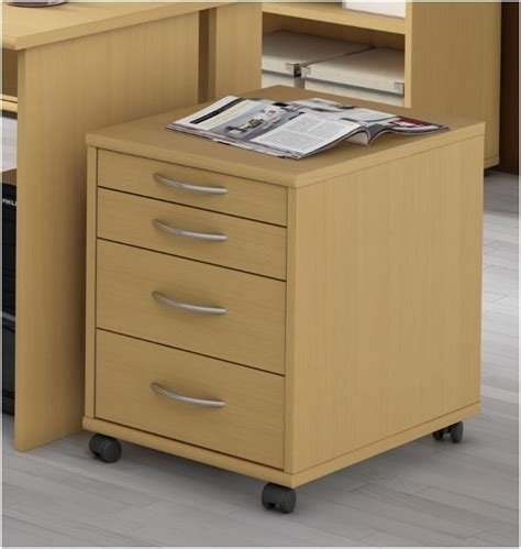 pedestal units office furniture alpha beech 4 drawer pedestal office furniture home storage