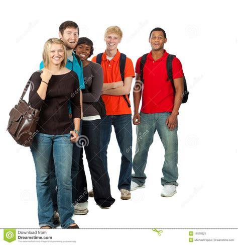 imagenes libres estudiantes grupo de estudiantes universitarios multirraciales imagen