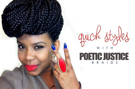 how much to charge for poetic justice braids natural hair quick styles with poetic justice braids
