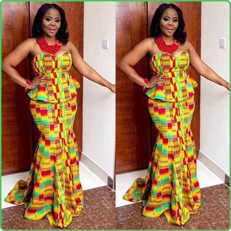 Ghana Kente Styles | kente kaba and slit designs joy studio design gallery