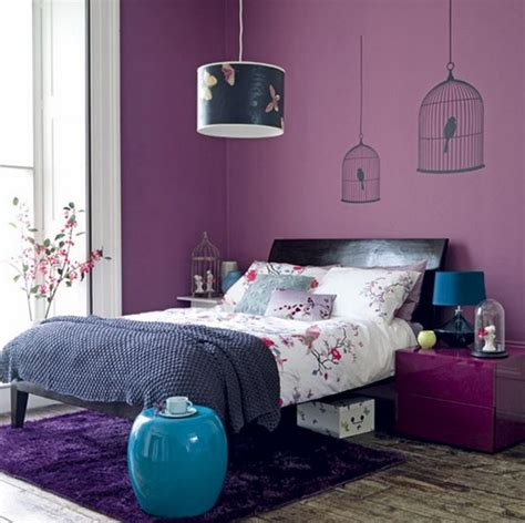 black and purple room stylish and relaxing bedroom colors with black furniture