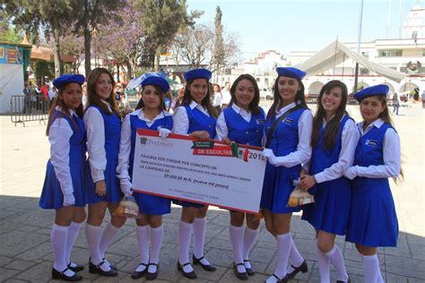 imagenes de escoltas escolares el mexiquense hoy concluye exitosamente concurso