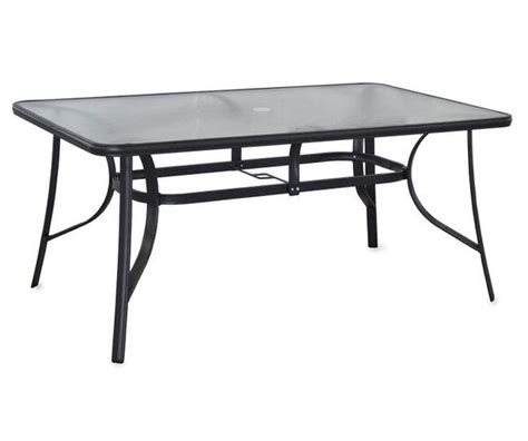 rectangular glass dining table big lots outdoor