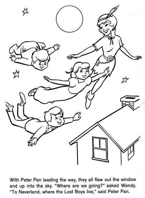 Tinkerbell Tinkerbell And The Lost Treasure Tinkerbell And Pan Lost Boys Coloring Pages