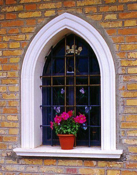 cornici in cemento cornici in cemento per finestre ad arco acuto