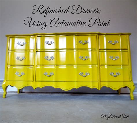chalk paint glossy finish refinished provincial high gloss furniture