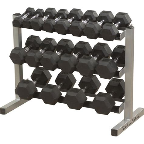 Rak Dumbbell solid 174 powerline 40 quot wide 3 tier dumbbell rack 116500 at sportsman s guide