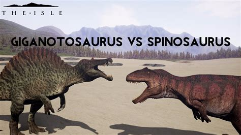 giganotosaurus vs spinosaurus vs t rex
