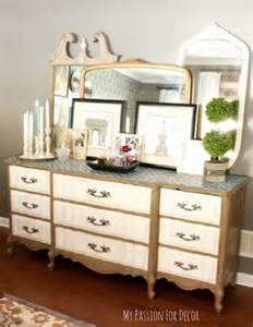 master bedroom dresser decor a vintage chic master bedroom makeover 171 stencil stories