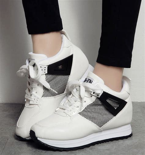 2015 toe platform sport shoes high heels