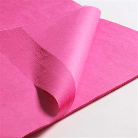 Tissue Paper - tissue paper 750 x 500mm pink 100 sheets cardboard