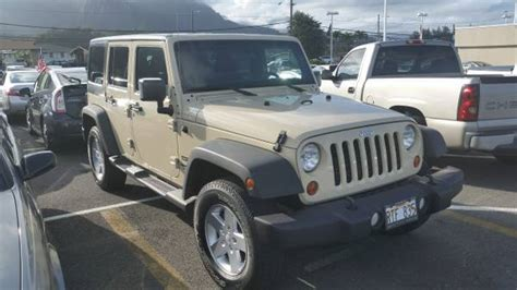 Jeep Kaneohe 2011 Jeep Wrangler Unlimited Sport For Sale In Kaneohe Hi