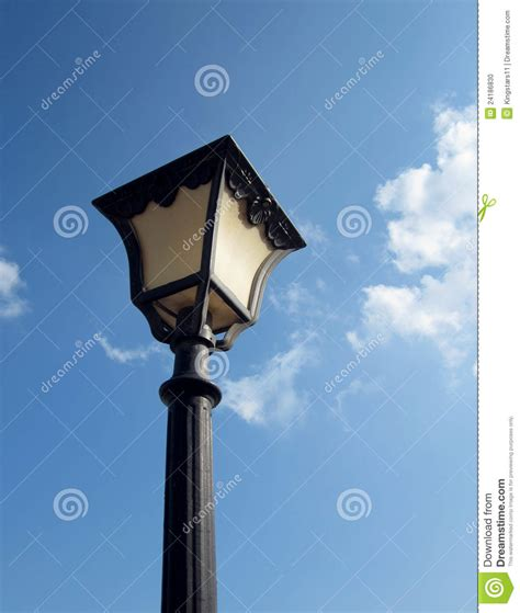 old time street lights old fashioned street light stock photo image 24186830