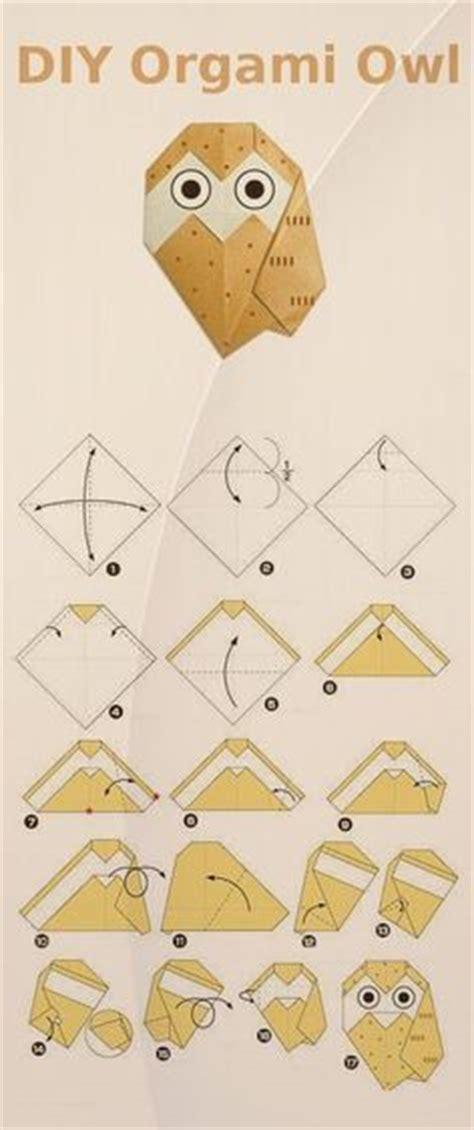 Origami Owl Diagram - easy origami for koala cat tadpole panda