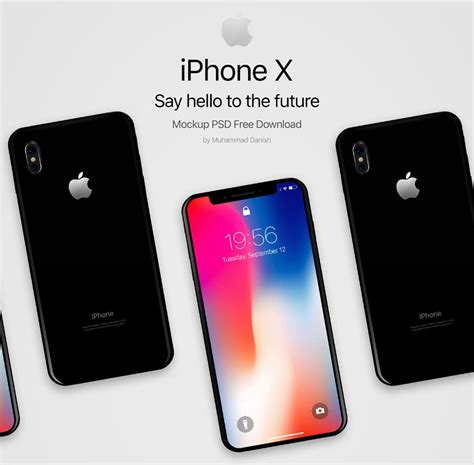 design poster on iphone 25 stylish iphone x psd mockups free to showcase your