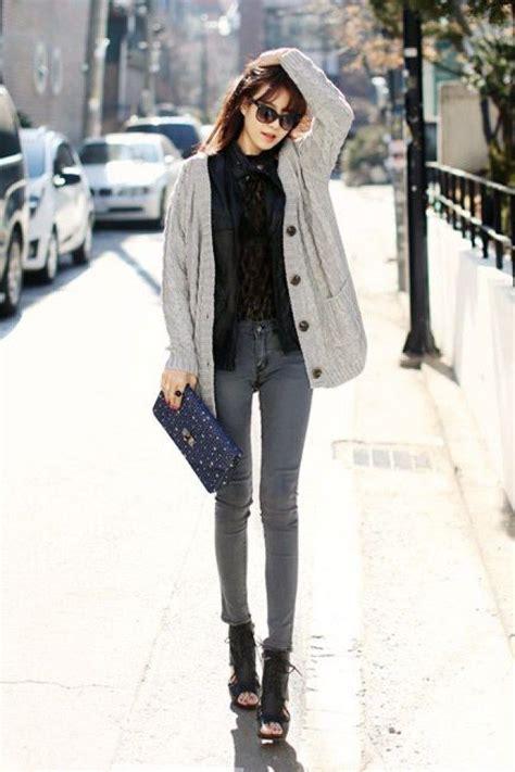 Syal Selendang Fashion Korean Style 74 cardigan kombinieren mit diesen simplen styling tricks k 246 nnt ihr die schlichten basics