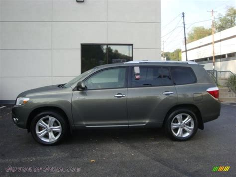 2008 Toyota Highlander Limited 2008 Toyota Highlander Limited 4wd In Cypress Green Pearl