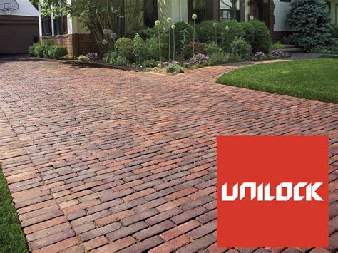 Unilock Paver Sealer whiz q pavers and wall