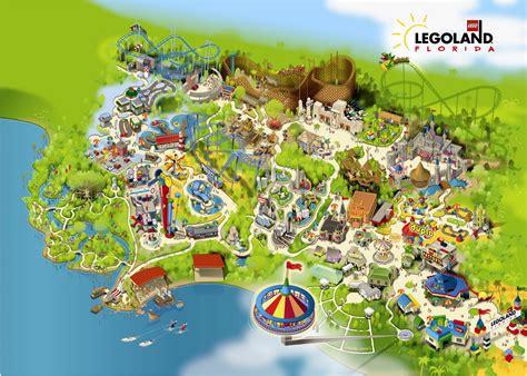 legoland map legoland florida map images