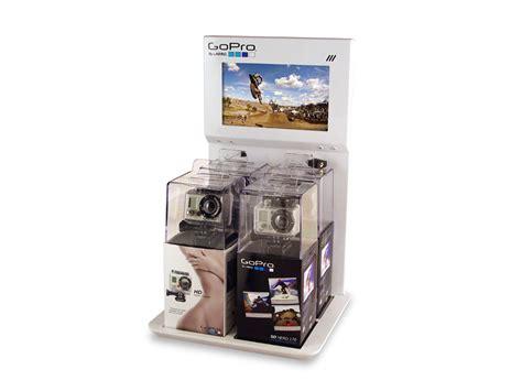 Retail Countertop Displays by Gopro Retail Display Concept Designs Inc Palo Alto Ca