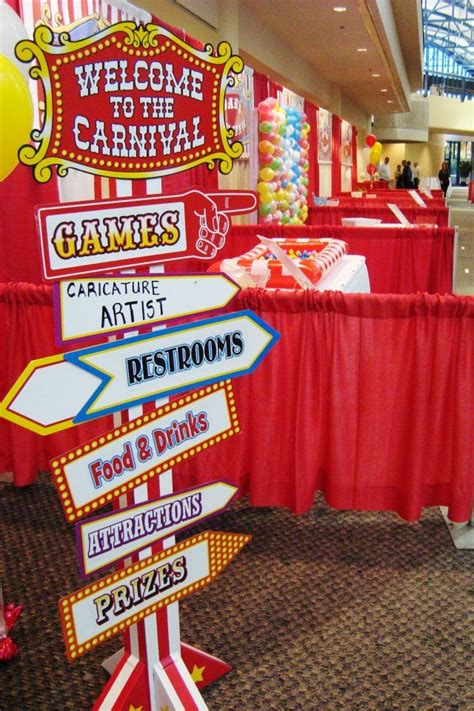 retail themed events carnival employee appreciation event i love this idea