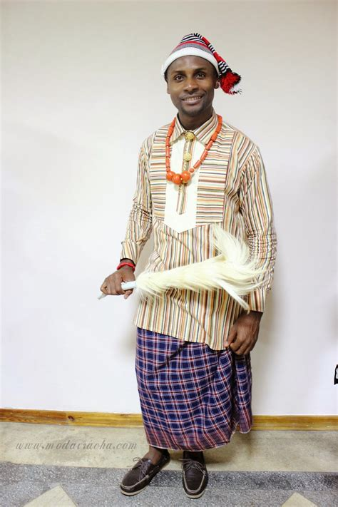 native nigeria men igbo native attires 10 traditional clothing worn by