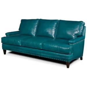 Turquoise Leather Sofa Turquoise Leather Sofa