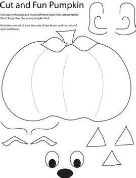 pumpkin coloring pages dltk free worksheets 187 pumpkin cut and paste free math