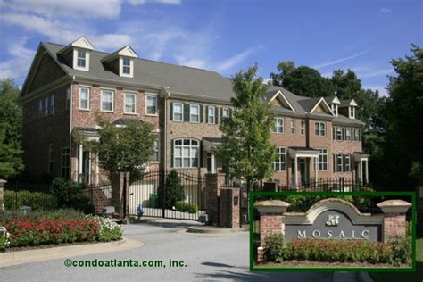 mosaic at vinings townhomes in smyrna