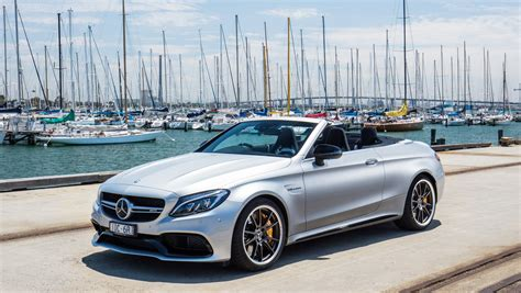 convertible mercedes 2017 mercedes amg c63 s cabriolet review photos caradvice