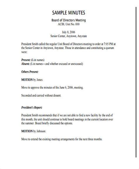 nonprofit meeting minutes template  premium