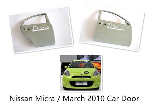 Sparepart Nissan March car nissan door replacement nissan micra march