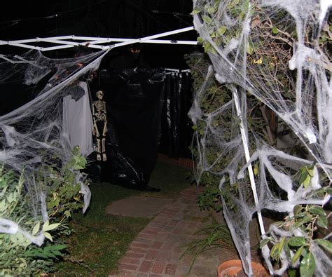 how to make a haunted maze in your backyard my haunted house and how i made it