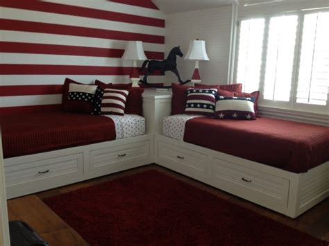 bed for small room 2 corner beds custom wood furniture orange county custom