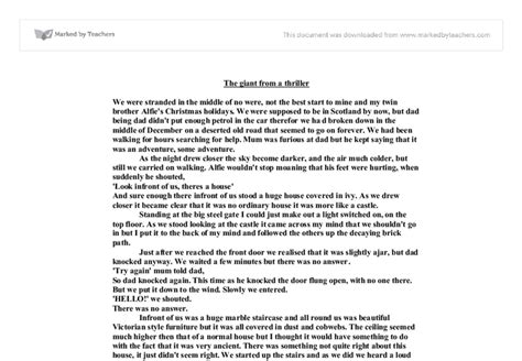 Horror Story Essay by Scary Narrative Essay Copywriterbranding X Fc2