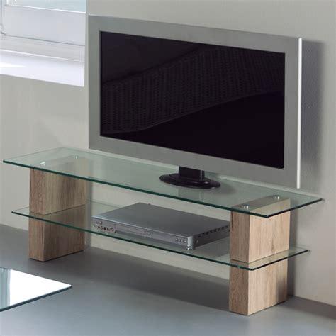 Meuble Tv Verre by Meuble Television Moderne En Verre Sofamobili