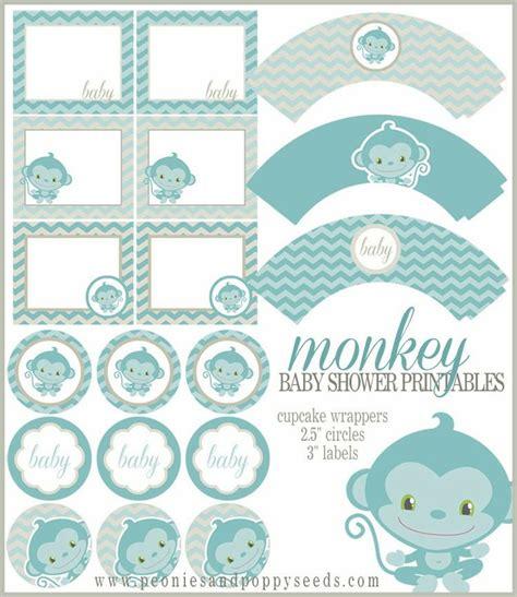 Free Baby Shower Printables by Mini Kit Para Baby Shower De Monito Para Imprimir Gratis Para Imprimir Gratis Recortables