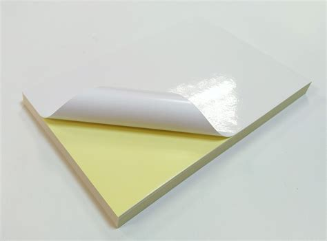 How To Make Glossy Paper - self adhesive glossy labels