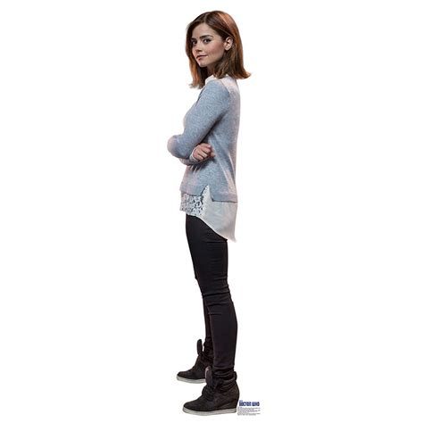 Online Home Decor Store by Clara Oswald 2 Doctor Who Dr Who Jenna Coleman Cardboard
