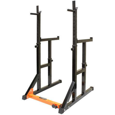 mirafit hd adjustable fid weight bench squat rack dip