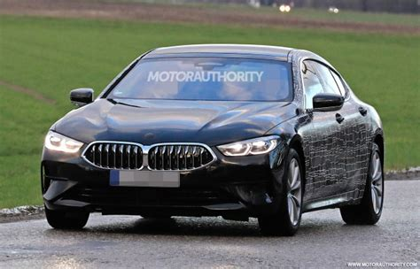 bmw  series gran coupe spy shots  video