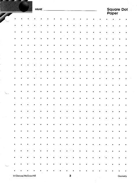 dot pattern multiple square shapes geometry paper and patterns