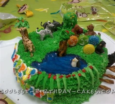 zoo themed birthday cake ideas coolest zoo party animals birthday cake