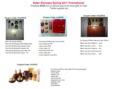 Sulwhasoo Set Promo sulwhasoo and the history of whoo skin care april 2011