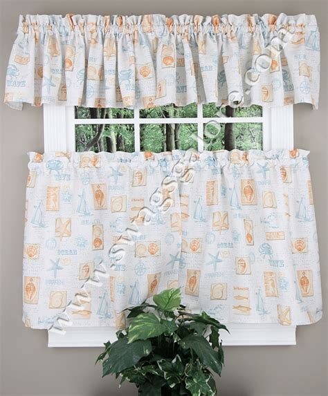 blue tier curtains by the sea curtains blue tiers swags