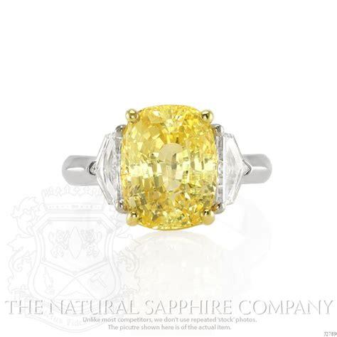 cushion cut yellow sapphire ring 10 sapphire eangmaent rings that prove diamonds aren t