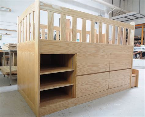 Design Your Own Bunk Bed Loft Bed With Storage Custom Furniture In Singapore