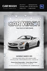 car wash poster template free car flyer car flyer monthly status report template word
