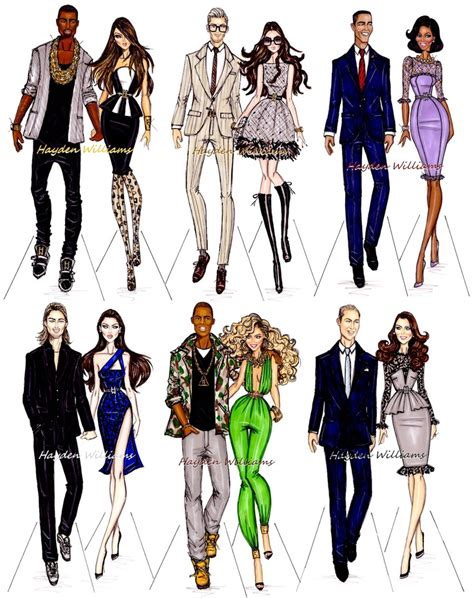 Fashion Find Hayden In Local by Hayden Williams Fashion Illustrations Power Couples By
