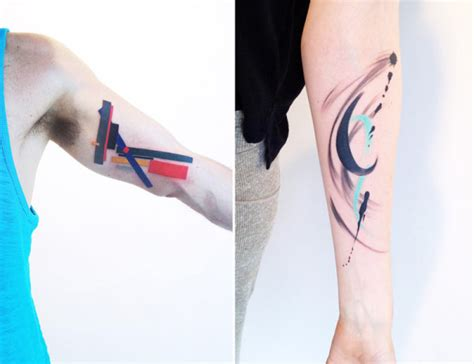 design milk tattoo modern art tattoos by amanda wachob design milk